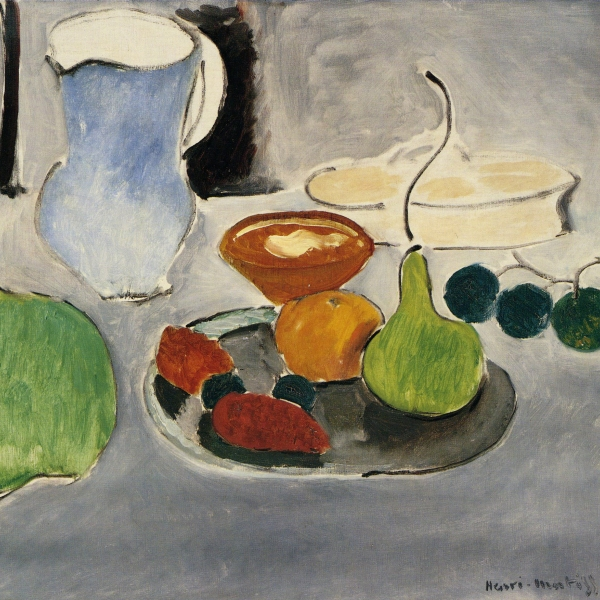 Henri Matisse, Still Life with Gourds and Blue Pitcher, 1916