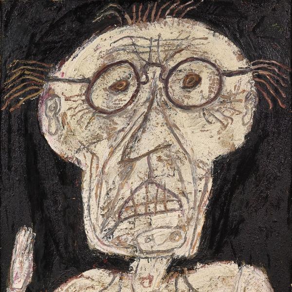 Jean Dubuffet, Dhôtel, July - August 1947