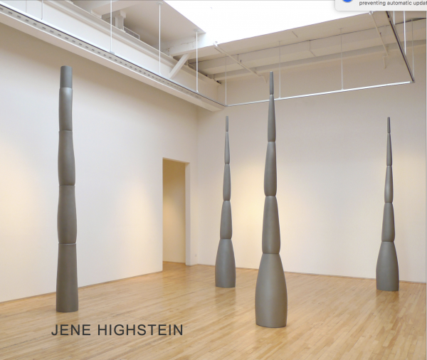 Jene Highstein: New Sculpture, Towers and Elliptical Forms