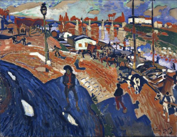 Andre Derain, The Bridge at Le Pecq, 1904-05