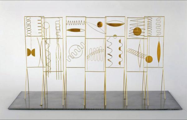 Fausto Melotti, I magnifici sette, 1973