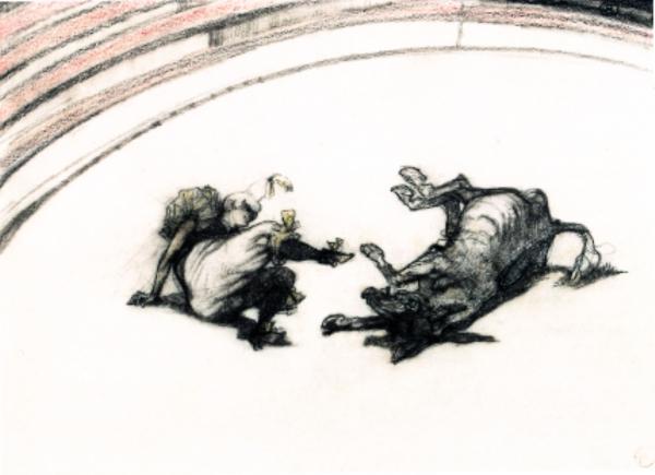 Henri de Toulouse-Lautrec, Au cirque: clownesse, 1899