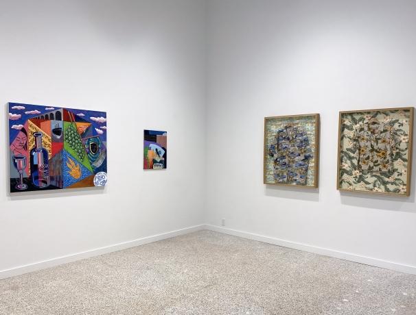 Selections from the New Wave Residents: Estelle Maisonett, Joiri Minaya, Renzo Ortega and Asser Saint-Val