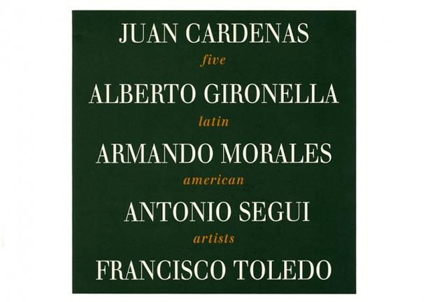 Five Latin American Artist