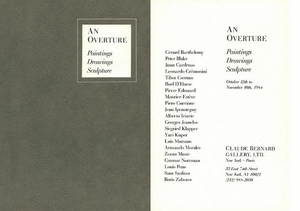 An Overture