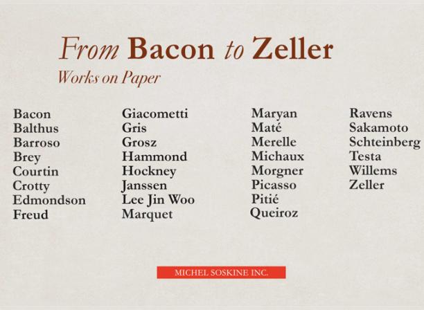 bacon zeller michel soskine