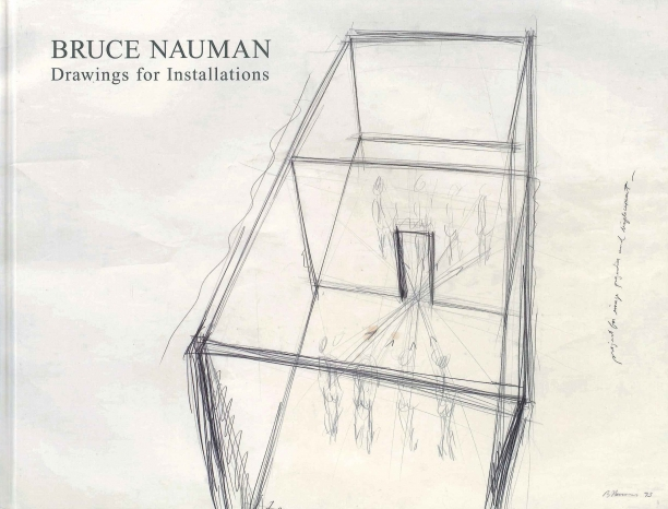 book cover illustrated with a pencil drawing of an art installation