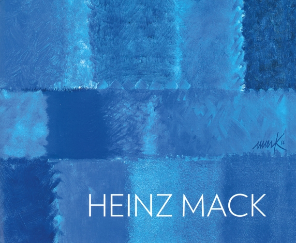 book cover illustrated with a detail of a monochromatic, abstract blue painting