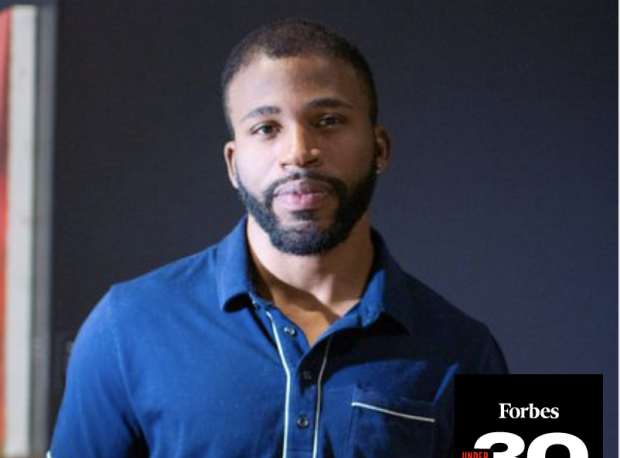 Dominic Chambers named in Forbes 30 under 30