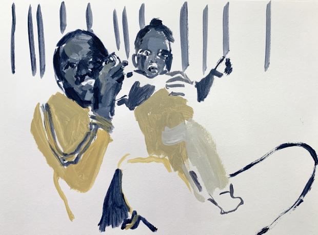 Wangari Mathenge The Expats Studies: Impressions on Paper