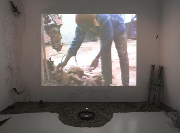 Barbara McCullough Installation View