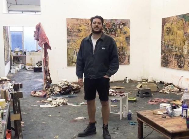 Daniel Crews-Chubb Studio Visit