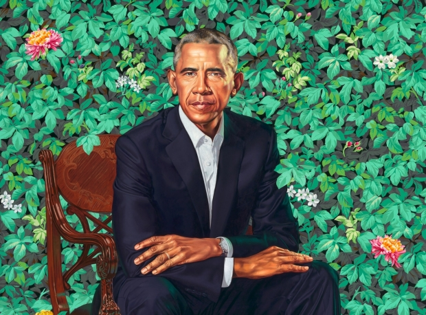 Kehinde Wiley:  The Obama Portraits
