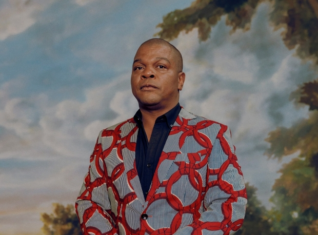 Kehinde Wiley and the Duke of Devonshire