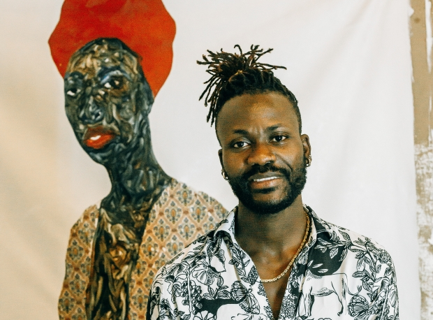 Amoako Boafo Named One of the Most Influential Artists of 2020 by Artsy