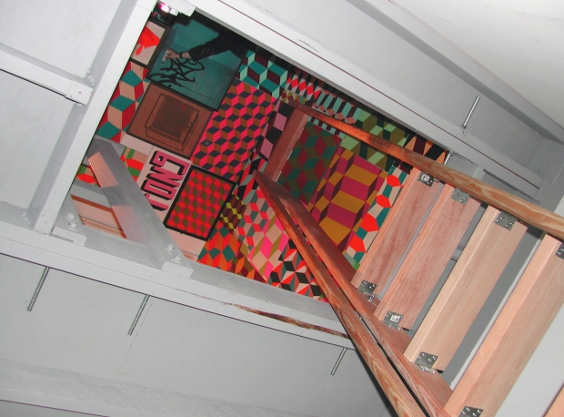 Barry McGee Loft Installation