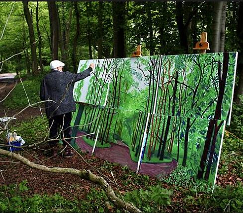 David Hockney Unlocked