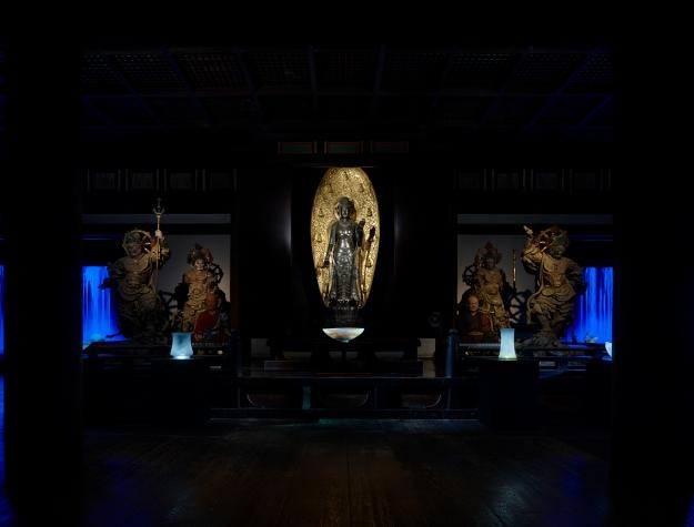 薬師寺「水と光の幻想」展 Yakushi-ji