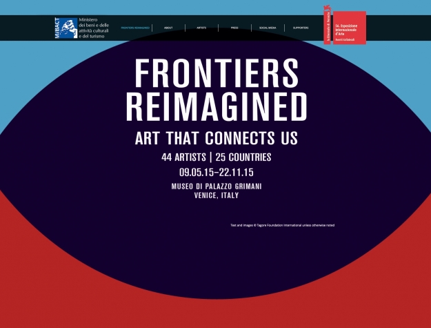 FRONTIERS REIMAGINED - Official Collateral Event as part of the 56th International Art Exhibition of la Biennale di Venezia