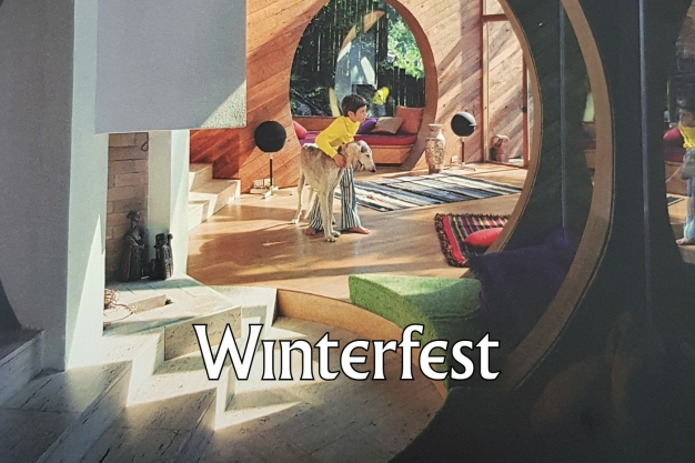 Giangiacomo Rossetti in Winterfest: An Exhibition of Arts and Crafts