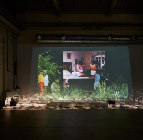 Trisha Baga in A SCULPTURE, A FILM AND SIX VIDEOS