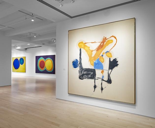 Helen Frankenthaler + L, M, N, O, P