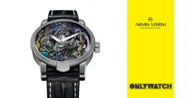 "Armin Strom - Manual ""Hunt Slonem Edition"" for Only Watch"