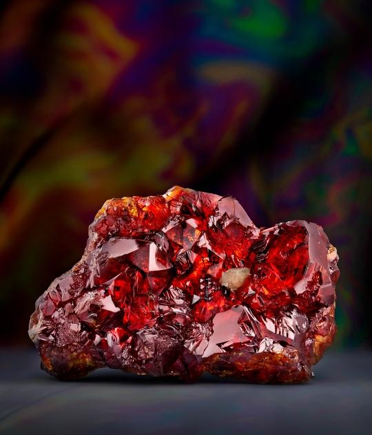 Sphalerite with Calcite