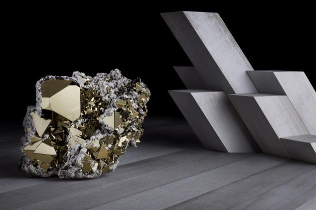 Contrast Exhibition Pyrite