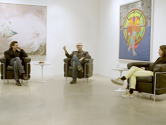 Eric Shiner in conversation with Inka Essenhigh and Ryan McGinness