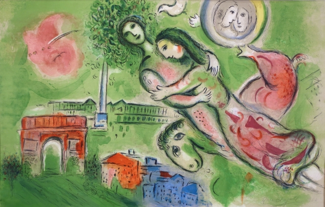 Marc Chagall, Romeo and Juliet, 1964