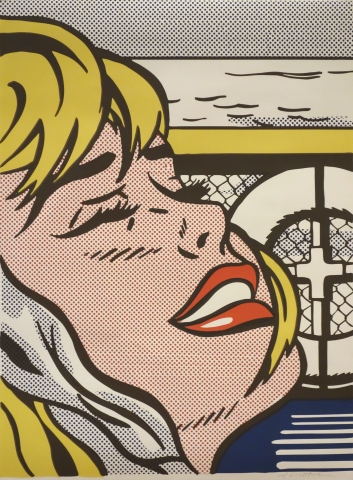 Roy Lichtenstein, Shipboard Girl, 1965