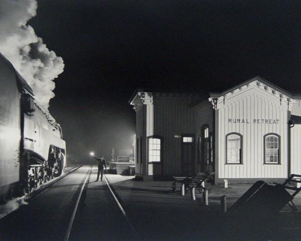 O. Winston Link, Birmingham Special at Rural Retreat, Virginia, 1957 (Printed 2000)
