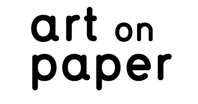 art on paper art fair logo