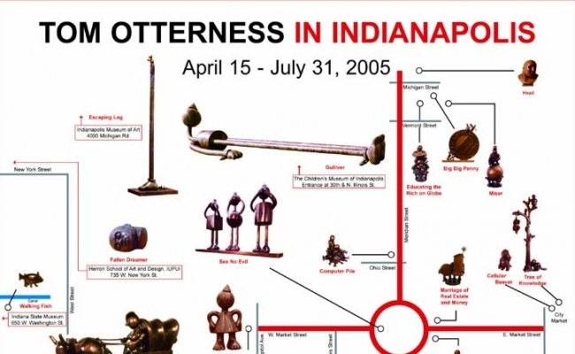 Tom Otterness in Indianapolis