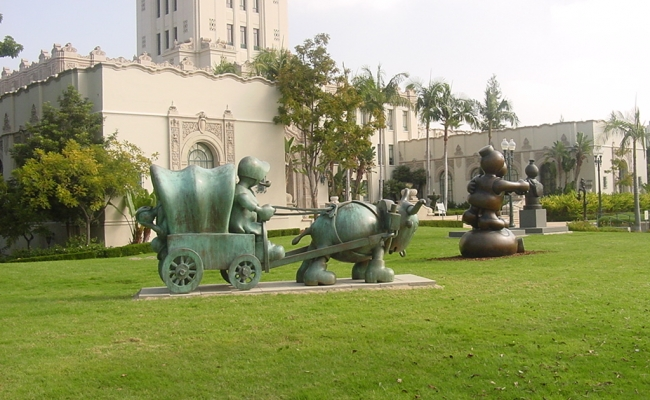 Tom Otterness in Beverly Hills