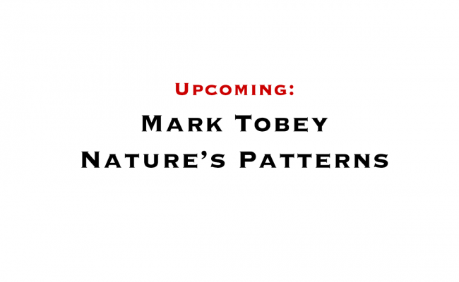 Mark Tobey: Nature's Patterns