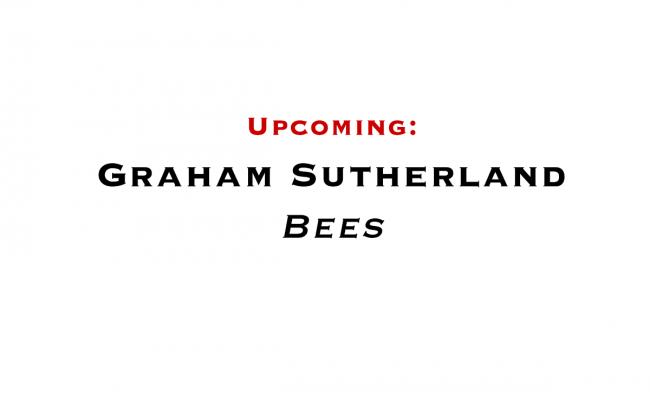 Graham Sutherland: Bees