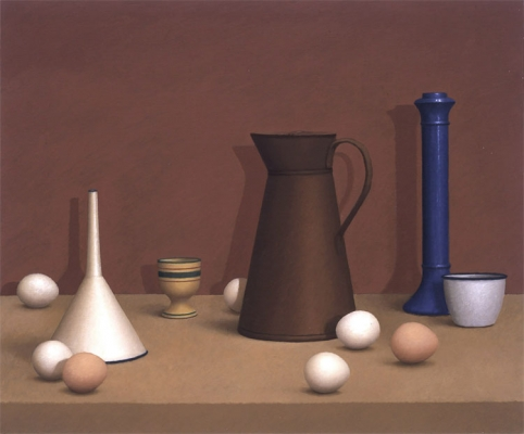 Oil painting by William Bailey