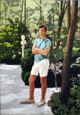Oil painting by Fairfield Porter