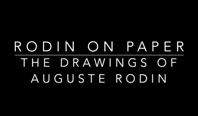 Drawing America: Rodin on Paper
