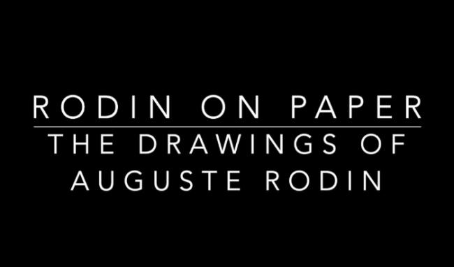 Drawing America: Rodin on Paper