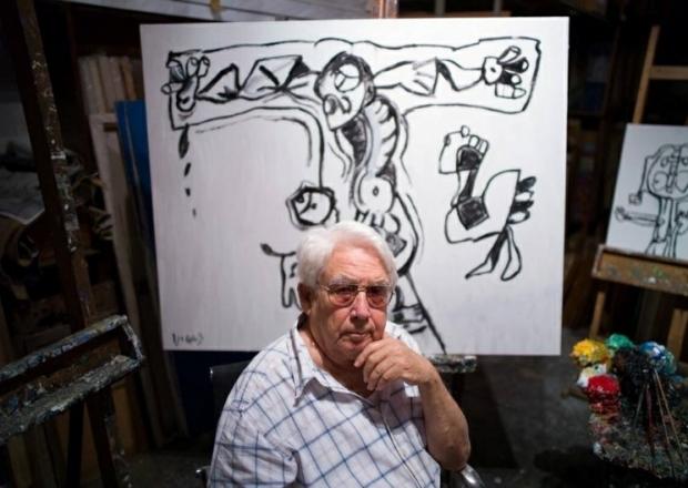 Presentan exposición del artista venezolano Oswaldo Vigas en México