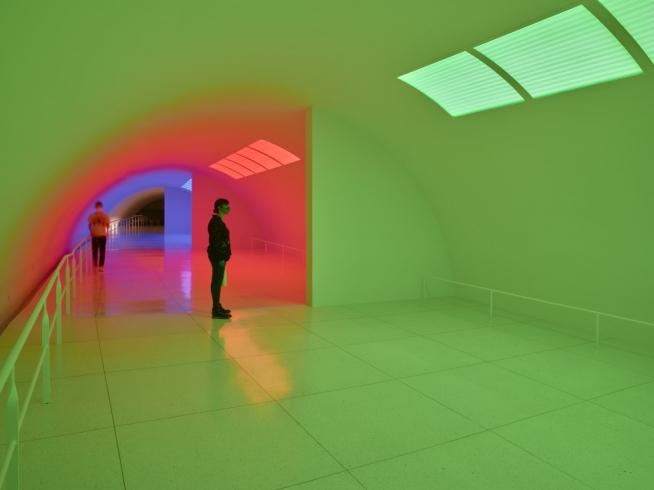 Carlos Cruz-Diez @ Museum of Fine Arts, Houston(MFAH), Texas