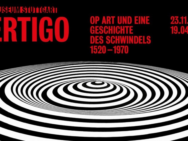 Vertigo. Op Art and the History of Optical Illusion 1520-1970 @ Kunstmuseum de Stuttgart