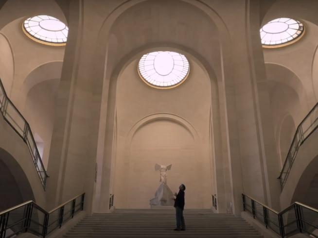 Behind the scenes, Elias Crespin @ Louvre, Paris
