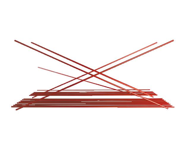 Cuadrado Flexionante Rojo