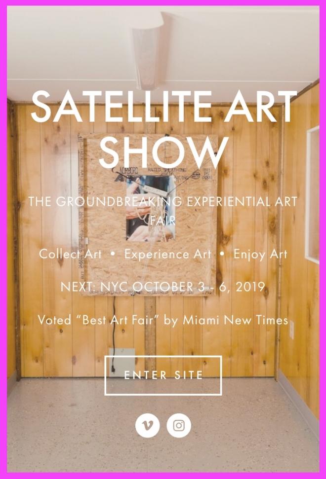 Lance Rautzhan at Satellite Art Fair 2019