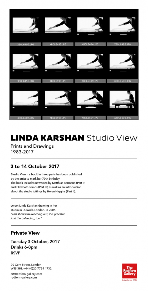 LINDA KARSHAN Studio View, Prints & Drawings