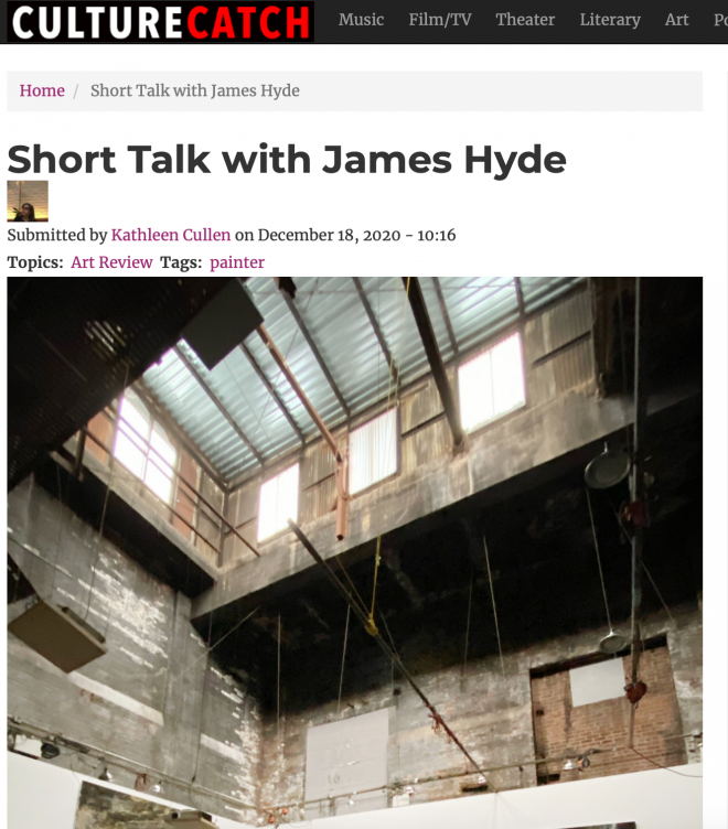Short Talk with James Hyde